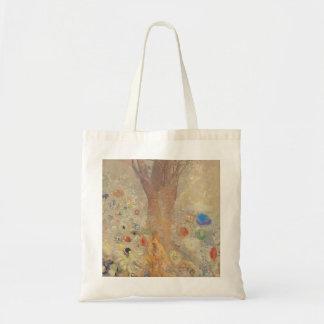 The Buddha by Odilon Redon Budget Tote Bag