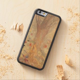 The Buddha by Odilon Redon Carved® Maple iPhone 6 Bumper Case