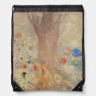 The Buddha by Odilon Redon Cinch Bag