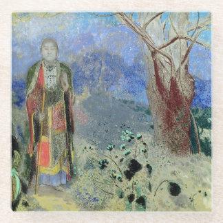 The Buddha, c.1905 Glass Coaster