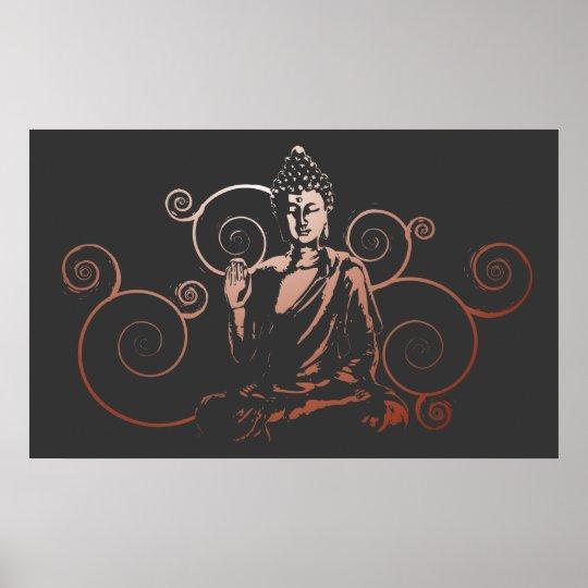 The Buddha Flow Print