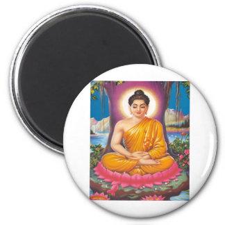The Buddha 2 Inch Round Magnet