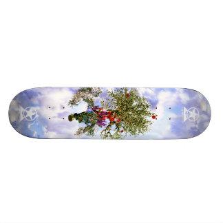 The Buddha's Flying Bodhi Tree Skateboard