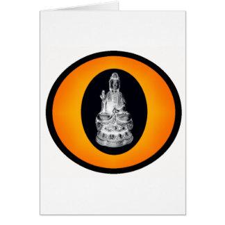 THE BUDDHIST SUN CARD