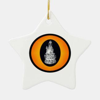 THE BUDDHIST SUN CHRISTMAS TREE ORNAMENT