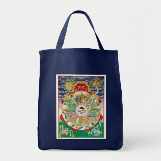 The Buddhist Wheel of Life Tote Bag