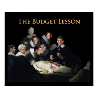 The Budget Lesson Poster