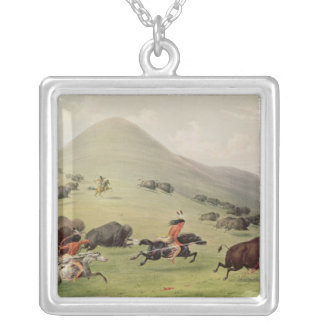 The Buffalo Hunt, c.1832 Necklaces