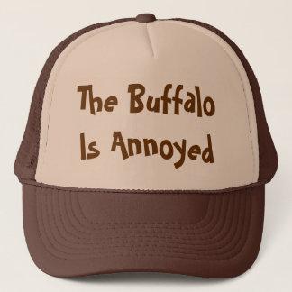 The Buffalo Is Annoyed Trucker Hat