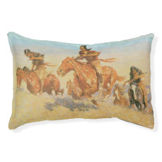 The Buffalo Runners, Big Horn Basin by Remington Pet Bed