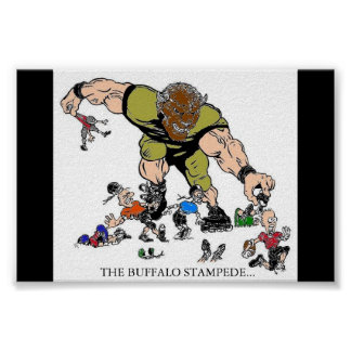 THE BUFFALO STAMPEDE POSTER