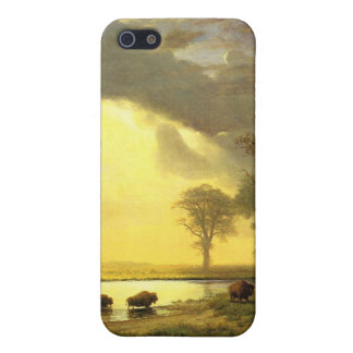 The Buffalo Trail,  Albert Bierstadt iPhone SE/5/5s Case
