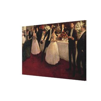 The Buffet, 1884 Canvas Print