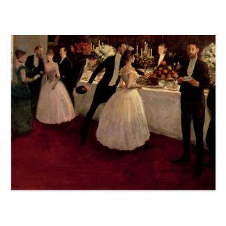 The Buffet, 1884 Postcard