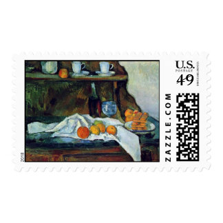 The Buffet By Paul Cézanne (Best Quality) Stamp