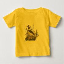 The Buffle-headed Duck(Fuligula albeola) Baby T-Shirt