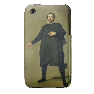 The Buffoon, Pablo de Valladolid, c.1635 (oil on c iPhone 3 Case-Mate Cases