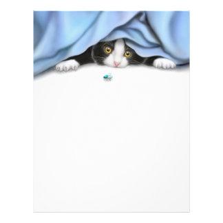 The Bug Hunter Cat Letterhead