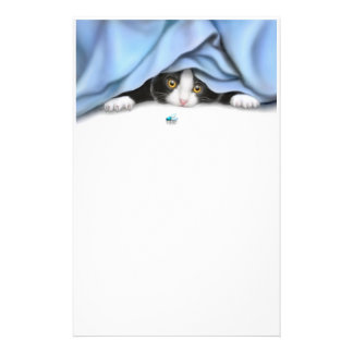 The Bug Hunter Cat Stationery