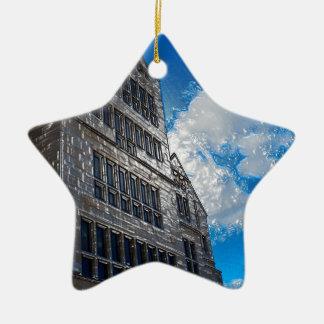 The Building Ceramic Ornament