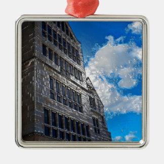 The Building Metal Ornament