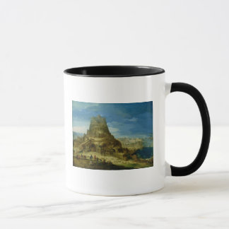 The Building of the Tower of Babel Mug