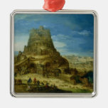 The Building of the Tower of Babel Christmas Tree Ornament
