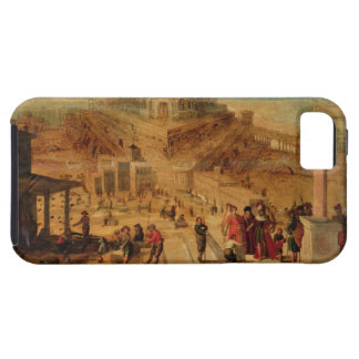 The building of the Tower of Babel (panel) iPhone SE/5/5s Case