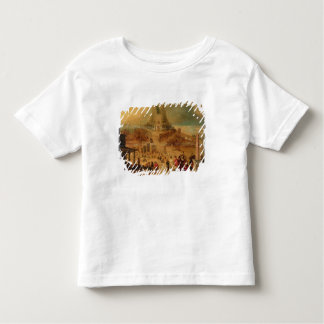 The building of the Tower of Babel (panel) Toddler T-shirt