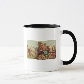 The Building of the Trojan Horse, c.1760 Mug