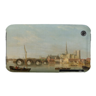 The Building of Westminster Bridge with an imagina iPhone 3 Case-Mate Case