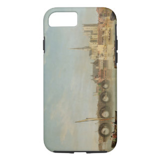 The Building of Westminster Bridge with an imagina iPhone 8/7 Case