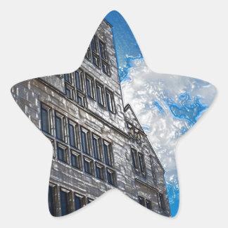 The Building Star Sticker