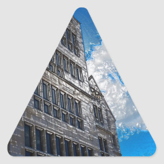 The Building Triangle Sticker