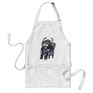 The Bull Father Adult Apron