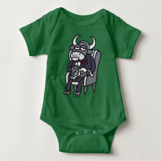The Bull Father Baby Bodysuit