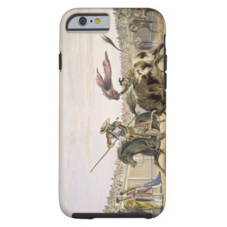 The Bull Following up the Charge, 1865 (colour lit Tough iPhone 6 Case