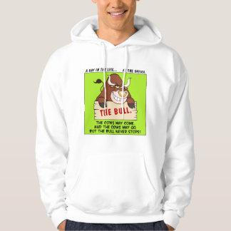 The Bull Here Never Stops Hooded Pullover