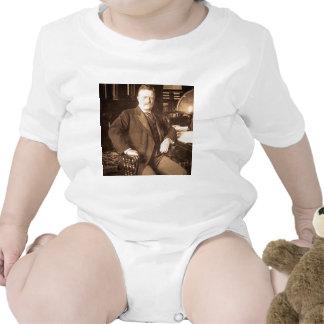 The Bull Moose Teddy Roosevelt Vintage Portrait Tee Shirts