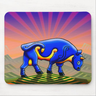 the bull mouse pad