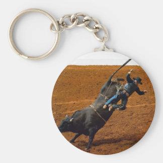 The Bull Rider Key Chain