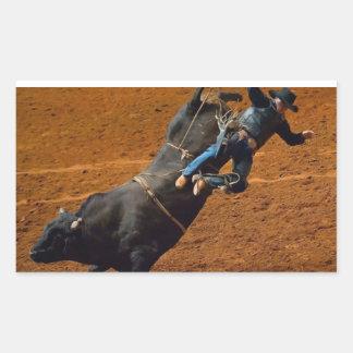 The Bull Rider Stickers