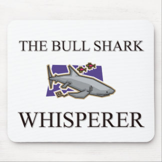 The Bull Shark Whisperer Mouse Mats