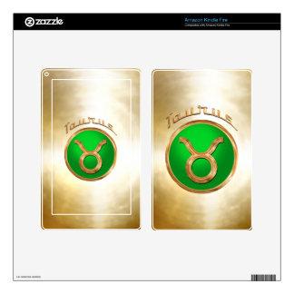 The Bull | Taurus Zodiac Symbol Kindle Fire Decals