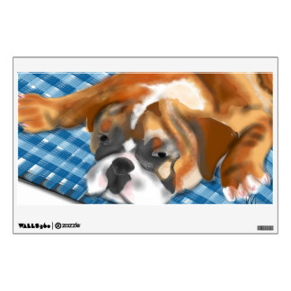 The Bulldog Puppy Wall Decals