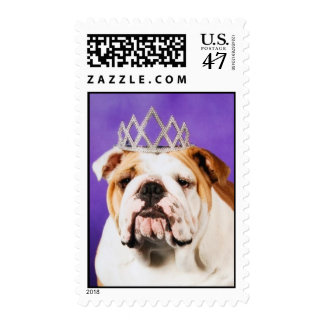 The Bulldog Queen Postage