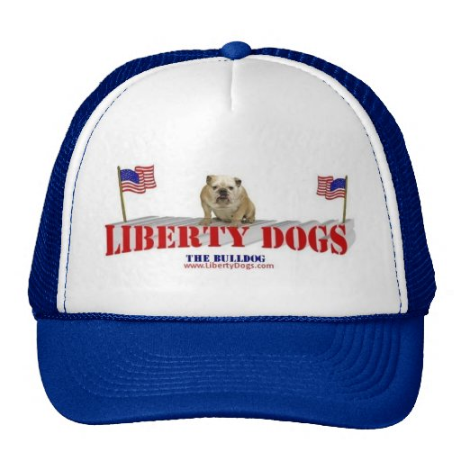 The Bulldog with Flags Trucker Hat