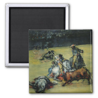 The Bullfight c 1825 oil on canvas Fridge Magnets