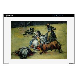 The Bullfight, c.1825 (oil on canvas) Skins For Laptops