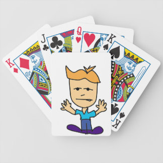 the bullyboy bicycle playing cards